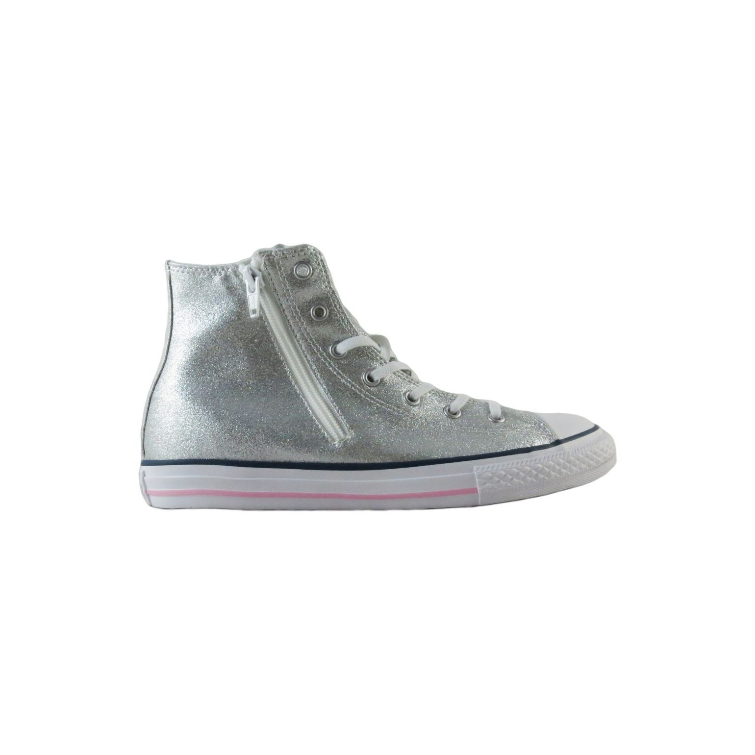 Converse All Star Women's High Sneakers HI Canvas Side Zip 648506C