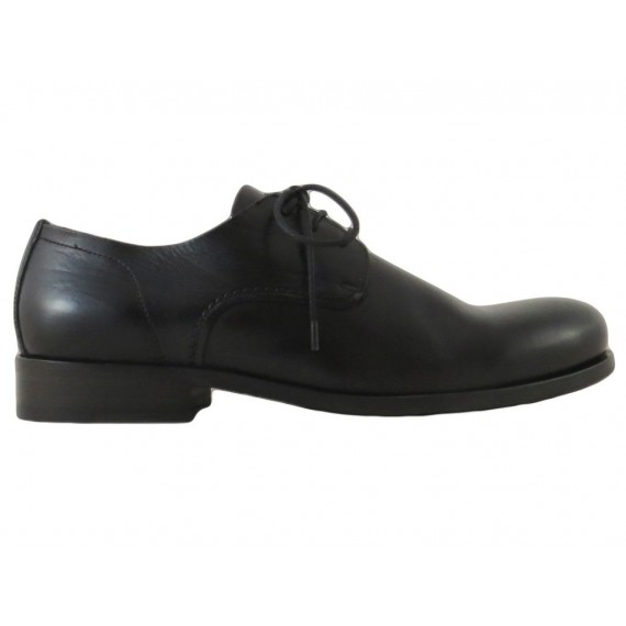 Hundred/100 Classic Men's Shoes Vacchetta Black Leather Sole
