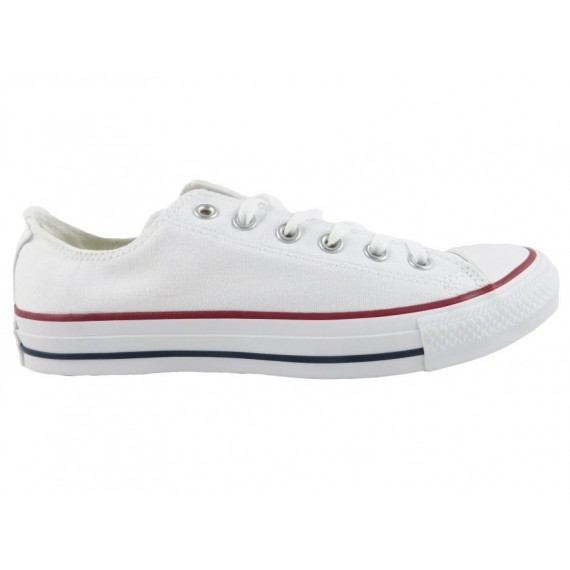 Converse All Star Sneakers Basse Uomo OX Optic White M7652C