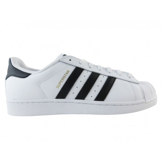 Adidas Sneakers Uomo Superstar White-Black C77124