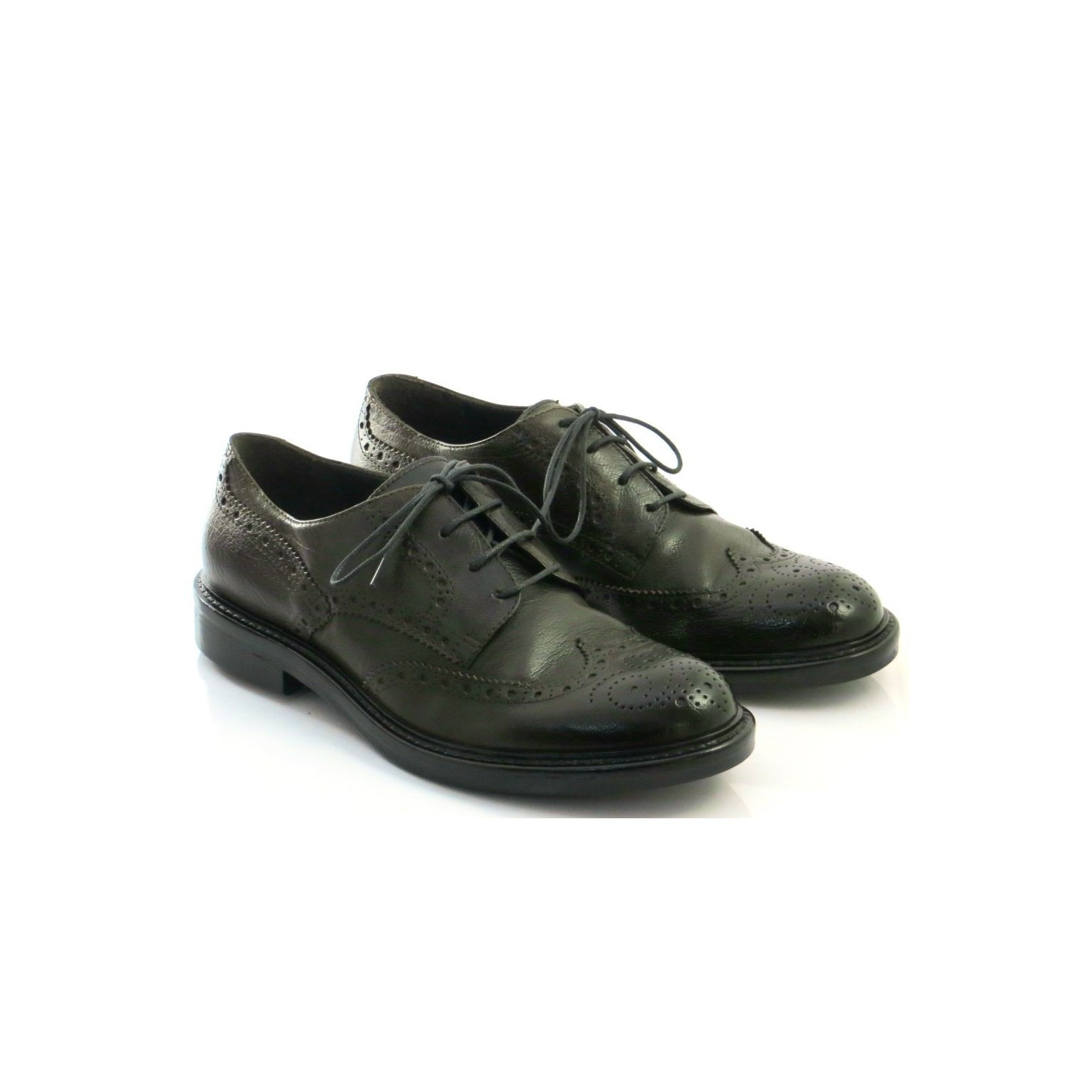 free shipping 2339b d154c Hundred/100 Men's Classic Shoes Smoke Bufalo Leather M681-32i