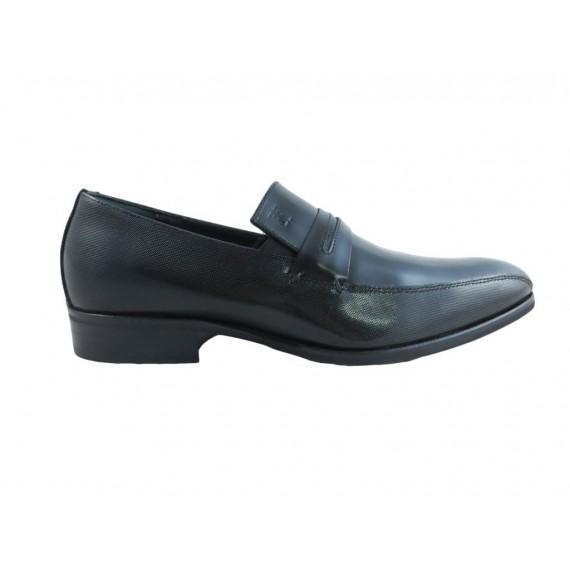Carlo Pignatelli Men's Loafers Armenia Brushed Black 28z 7038