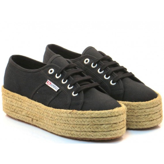 Superga Sneakers Donna 2790 CotropeW Nero S0099Z0