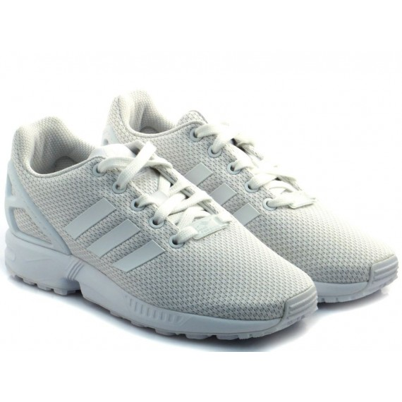 Adidas Sneakers Bambino ZX Flux J Bianco S81421