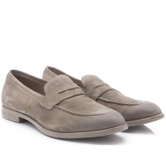 Hundred/100 Men's Shoes Loafers Suede Ardesia 331 M283-08