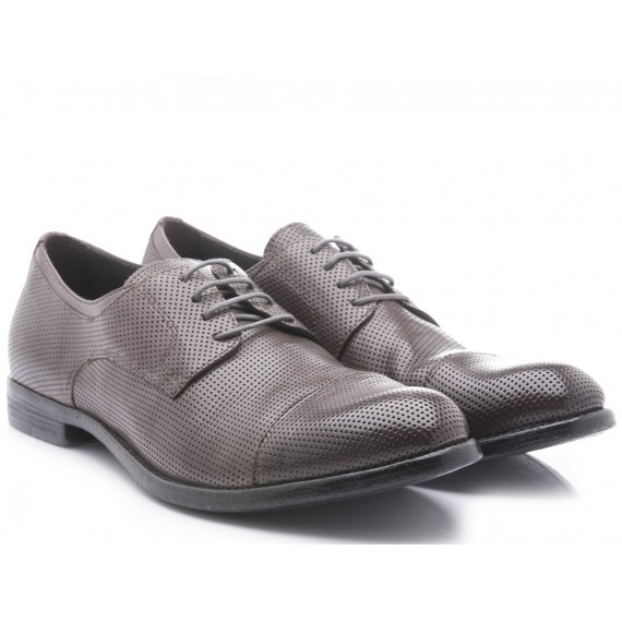 Hundred/100 Men's Classic Shoes Grey Leather M283-02