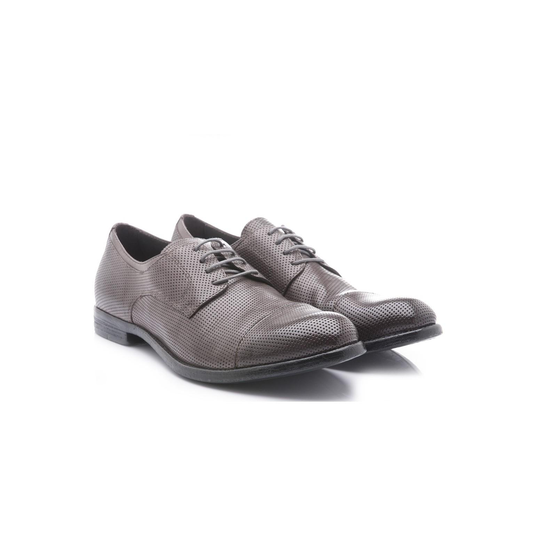 100 Scarpe Neri Pelle Hundred Uomo Galeotti Cuoio 02 Fondo M283 calzature Tuffato Grigio jLq3c45ARS