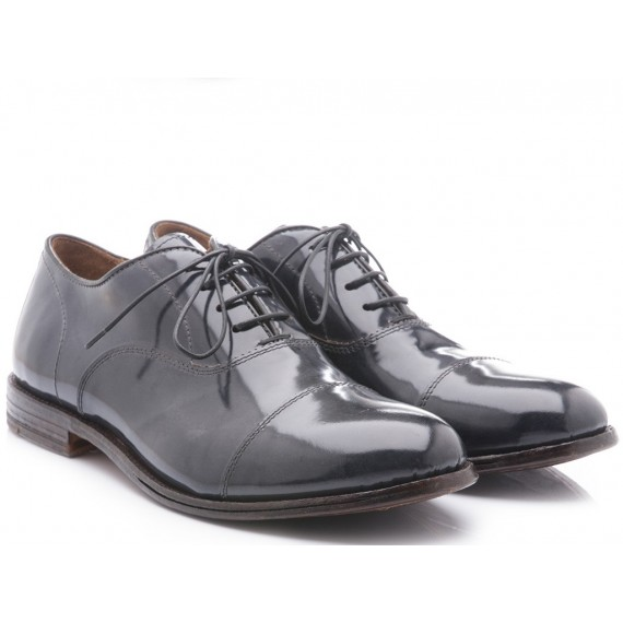 Moma Men's Classic Shoes Splendid Grey Leather 13703-LB