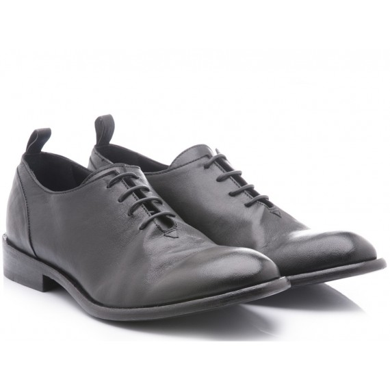 Ernesto Dolani Men's Classic Shoes Peter Black Leather 13018