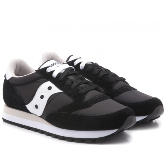 Saucony Scarpe-Sneakers Uomo Jazz Original Black-White S2044-329