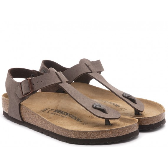 Birkenstock Women's Sandals Leather Moka