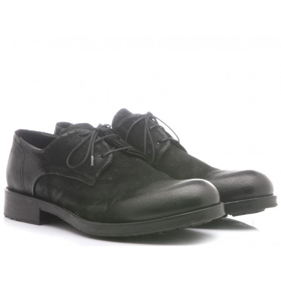 Hundred/100 Men's Classic Shoes Black Leather M839-15