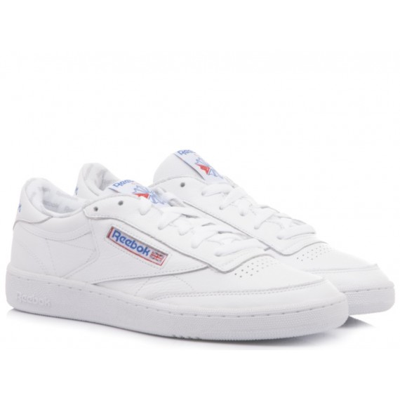 Reebok Sneakers Donna Club C 85 So Pelle Bianco BS5214