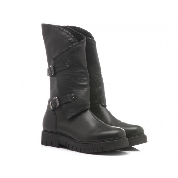 Keb Women's Boots Leather Black 410