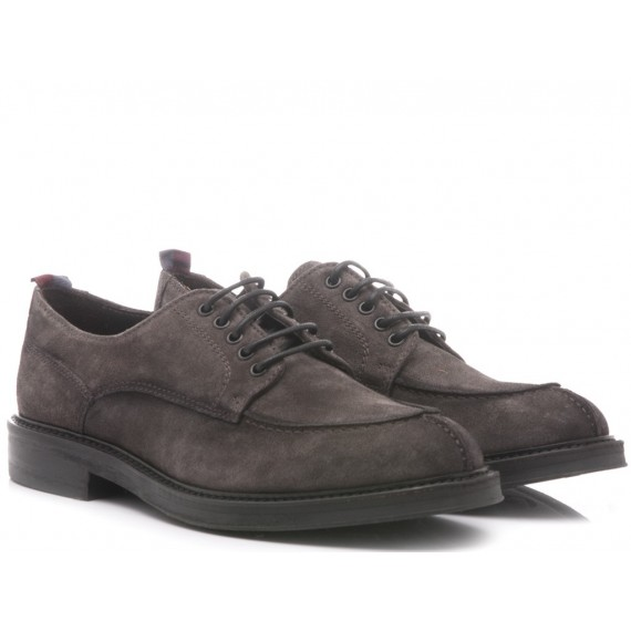Marco Ferretti Men's Shoes Suede Carbon 111374MF