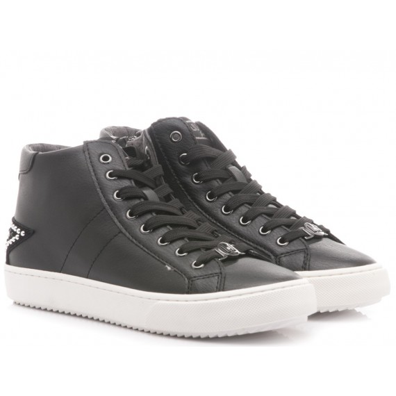 Liu.Jo Children's Shoes Sneakers Leather Black