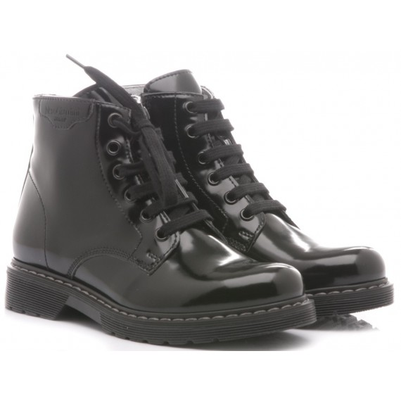Nero Giardini Children's Ankle Boots Black Leather