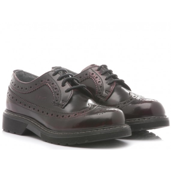 Nero Giardini Children's Shoes Bordeaux Leather