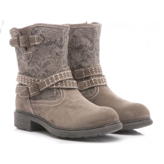 Nero Giardini Children's Ankle Boots Taupe Leather