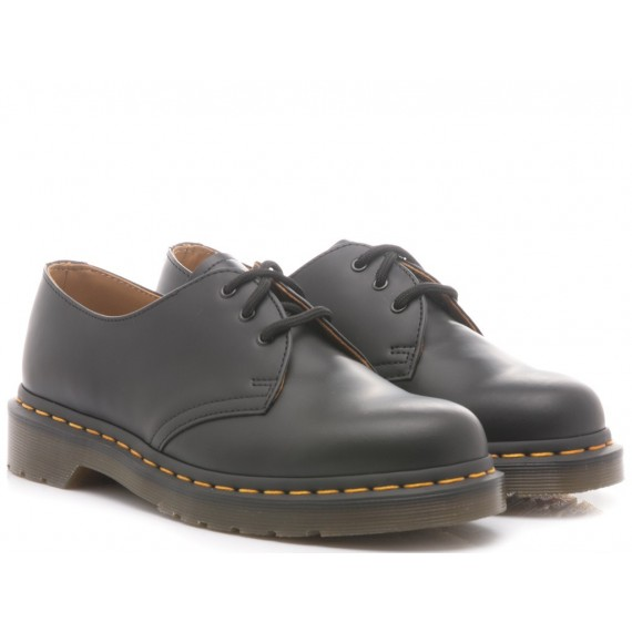 Dr. Martens Women's Shoes Black Leather Smooth 1461-59
