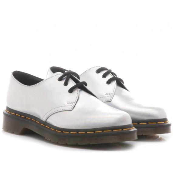 Dr. Martens Women's Shoes Leather Silver Lazer 1461 IM