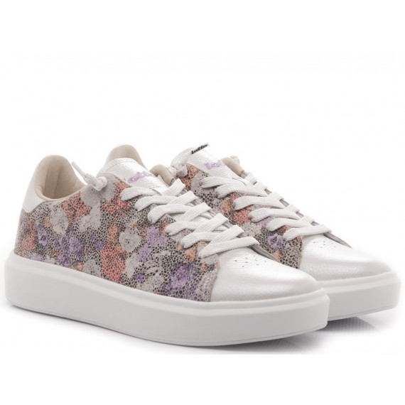 Lotto Women's Low Sneakers Impressions Flowers W T4613