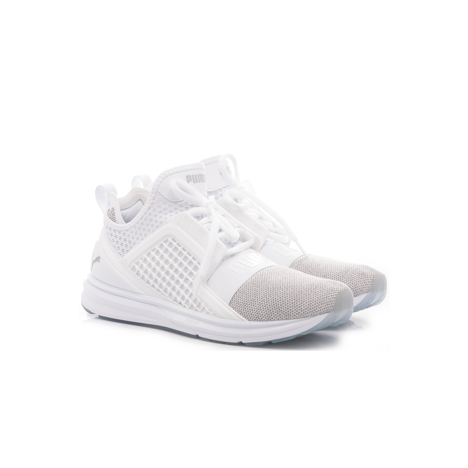 big sale f8862 4ab47 Puma Man's Sneakers Ignite Limitless Knit White 18998705