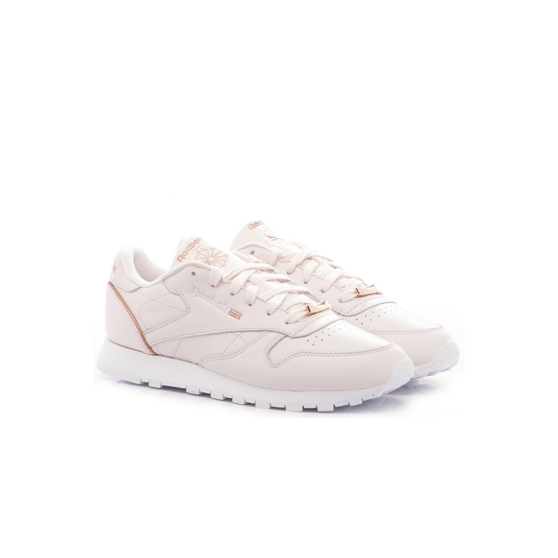 Reebok Women's Sneakers CL LTHR BS9880 Leather Pink