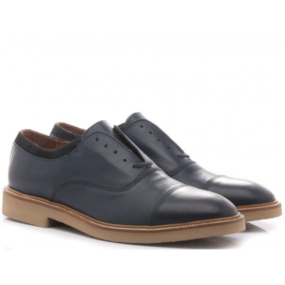Maritan G Men's Classic Shoes Gonzalo Blue Leather