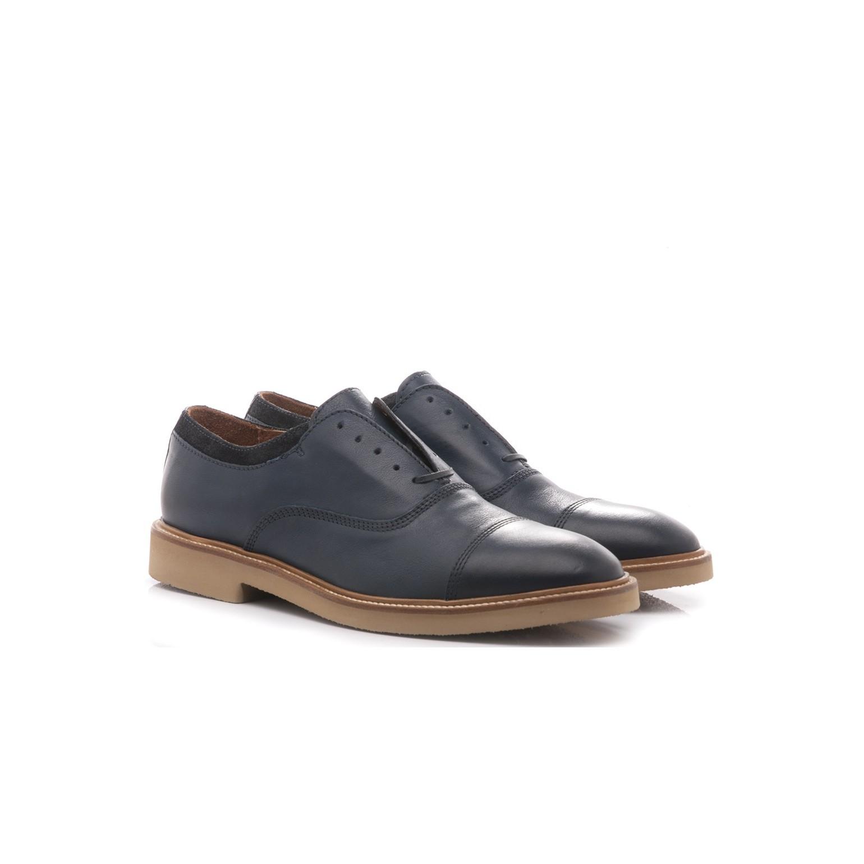 wholesale dealer d89c8 c959a Maritan G Men's Classic Shoes Gonzalo Blue Leather