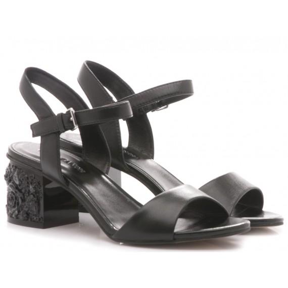 Elvio Zanon Women's Sandals H5203N Black
