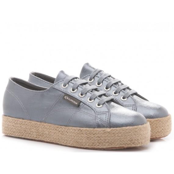 Superga Women's Sneakers Wedge Heel 2730 Linrbrropew Blu