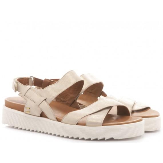 Benvado Women's Sandals Francy Glitter Gold