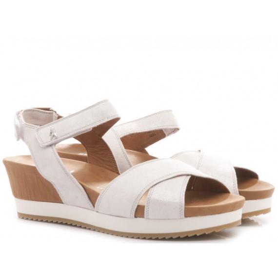 Benvado Women's Sandals Olga Glitter Silver