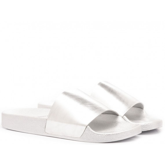 Windsor Smith Women's Slippers Ines Silver