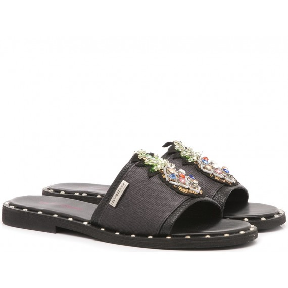 Les Tropeziennes Women's Sandals-Slippers Camille Black