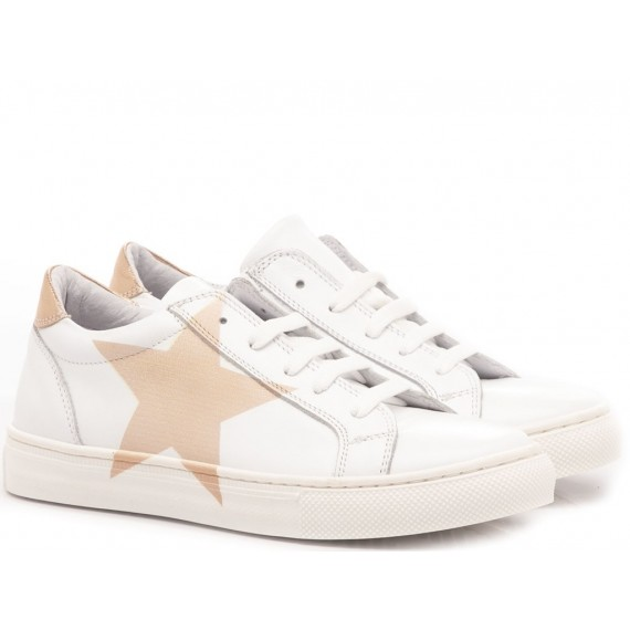 Chiara Luciani Girl's Sneakers White Leather