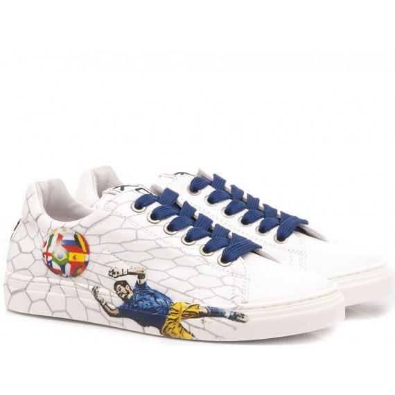 K87 Sneakers Bambino Pelle Calcio
