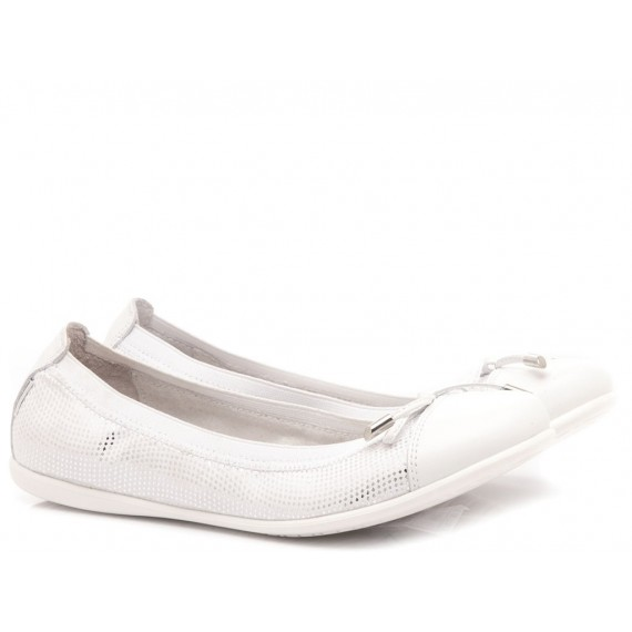 Nero Giardini Children's Ballerina Shoes Manaus Silver