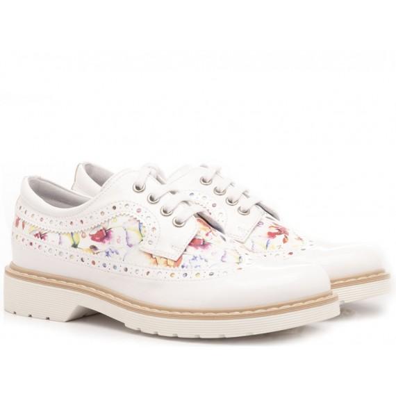 Nero Giardini Children's Shoes Leather White