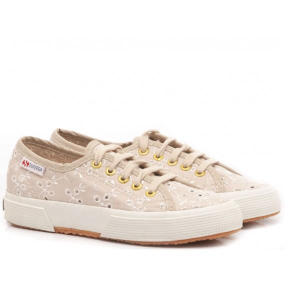 Superga Girl's's Sneakers 2750 Sangallo Ivory