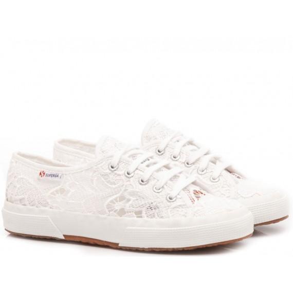Superga Girl's's Sneakers 2750 Macramej White