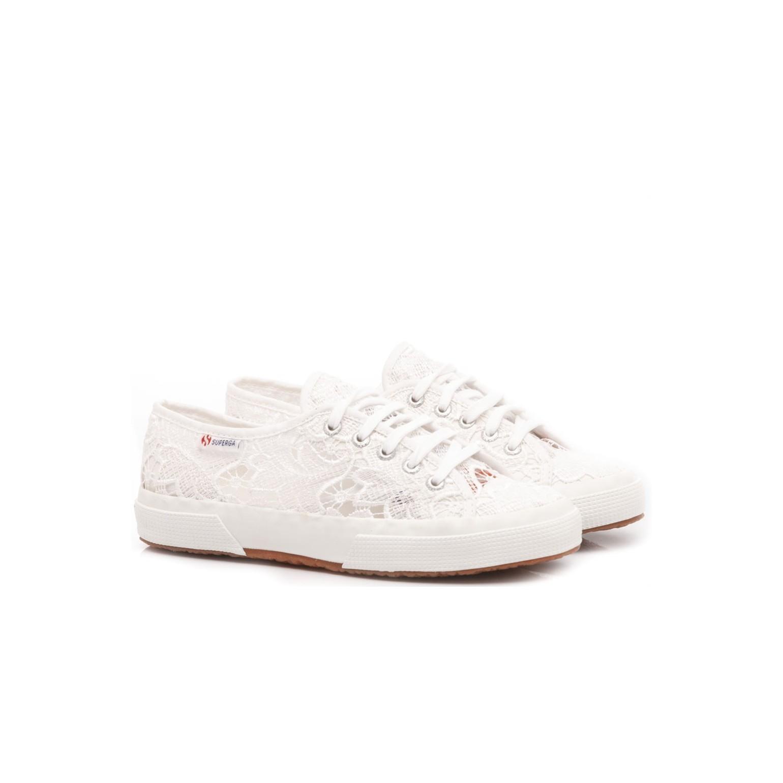 Superga Girlss Sneakers 2750 Macramej White