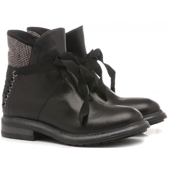 Zoe Women's Ankle Boots Velvet Black GBVAL1603