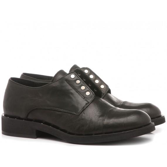 Laura Bizzarri Women's Shoes Leather Terry Black 27611