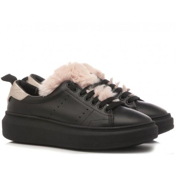 Stokton Sneakers Donna Burma Nero