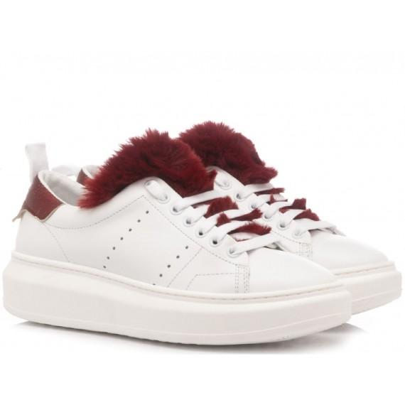 Stokton Sneakers Donna Burma White