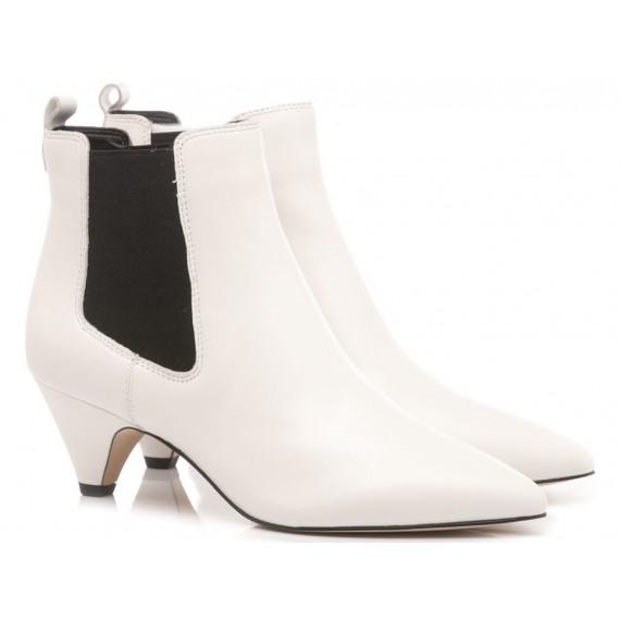Sam Edelman Woman's Ankle Boots Katt White