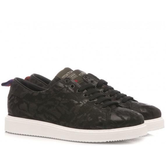 Stokton Sneakers Uomo Bubka-U-FW Nero
