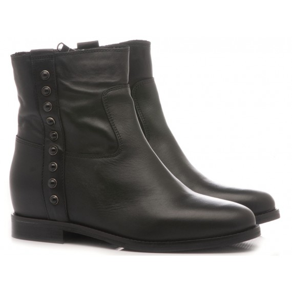 Keb Women's Ankle Boots Leather Black 761